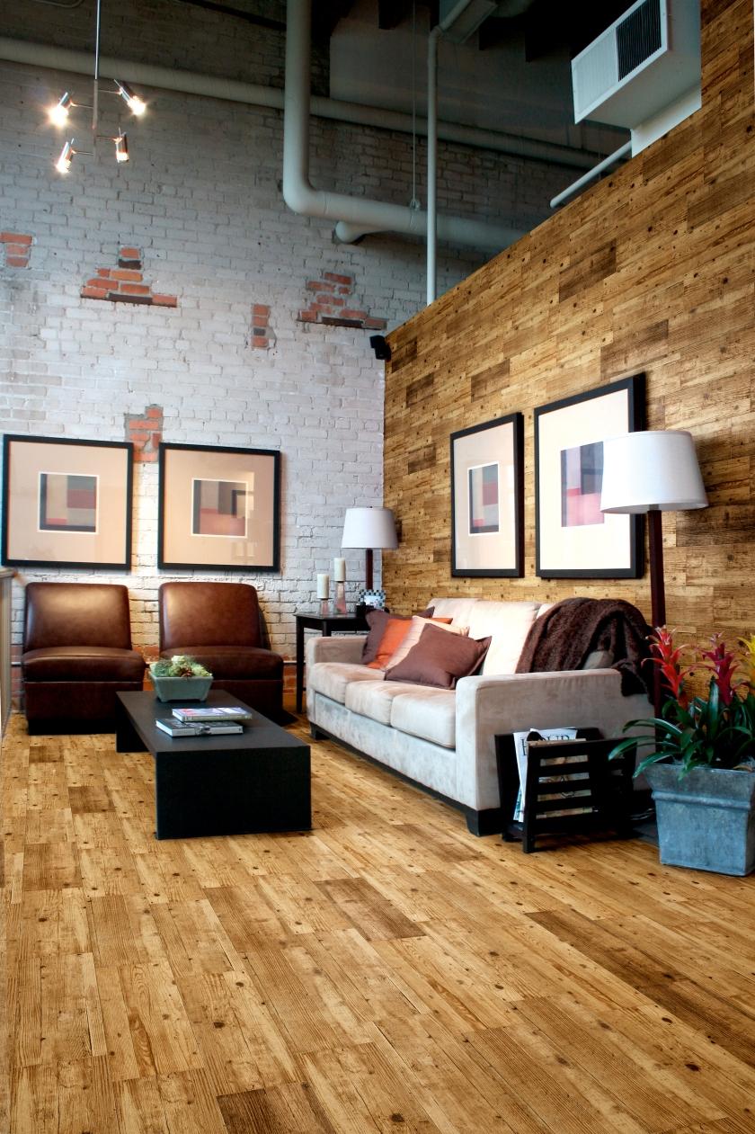 Trend 3 natural textures Rustic Oak Tiles from Walls & Floors
